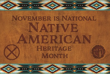 Image of a Native American Month graphic