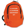 Classroom emergency backpack (empty)