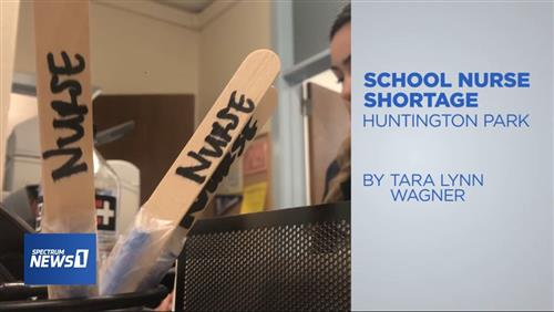 Learn more about the School Nurse shortage.