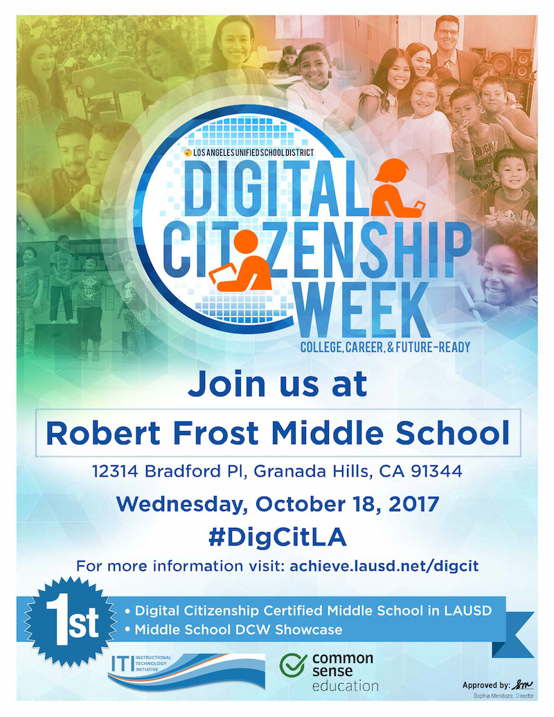 Digital Citizenship Week 2017 Flyer