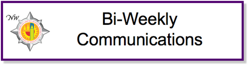 Bi-Weekly Communications Newsletter