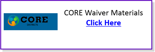 Core Waiver
