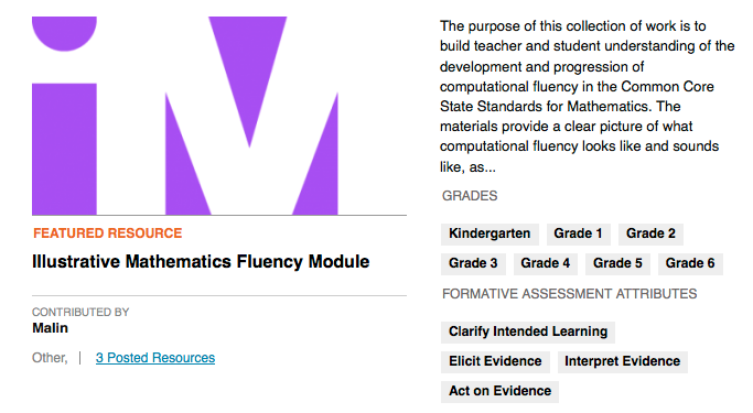 Digital Library Fluency Module