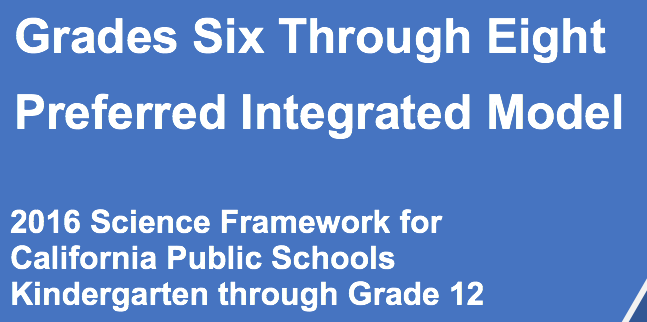 Middle School Full Implementation of the Grades Six Through Eight Preferred Integrated Model Begins 2018-2019
