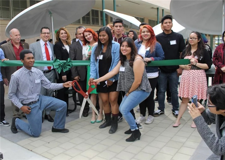Ribbon Cutting Ceremony at Canoga Park High School