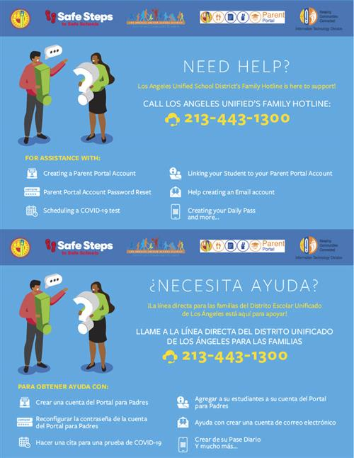 LA Unified's Family Hotline