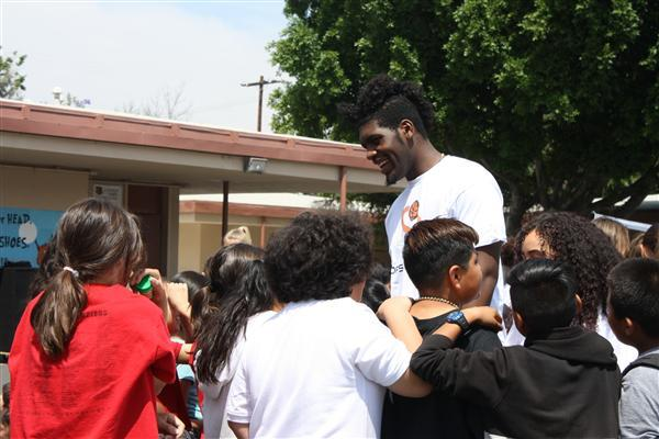 Hoops for Hearts at Canoga Park Elementary School
