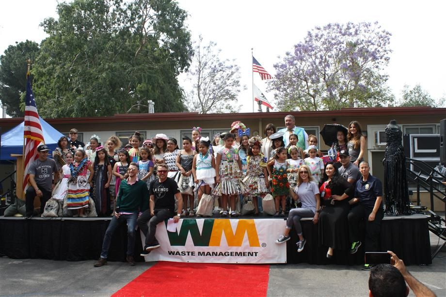 Elementary Schools Host Recycling-Themed Fashion Show To Promote Reusing, Reducing, Repurposing