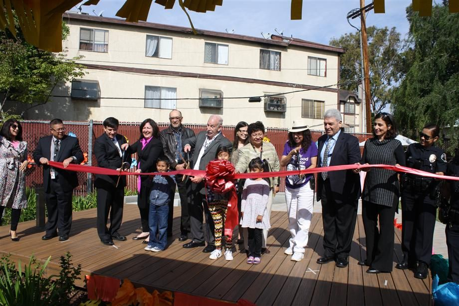 Ribbon Cutting Ceremony for Nature Explore Classroom at Canoga Park Early Education Center