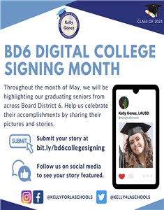 Digital College Signing Month