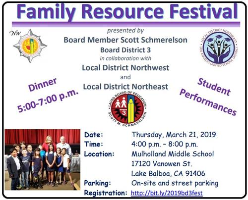 BD3 Resource Fair Flyer