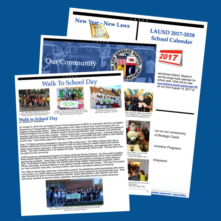 LASPD Newsletter