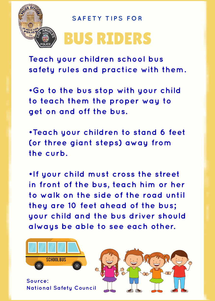 Safety Tips for Bus Drivers