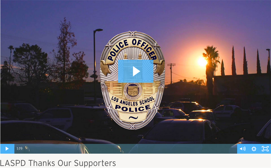 LASPD Thanks Our Supporters Video