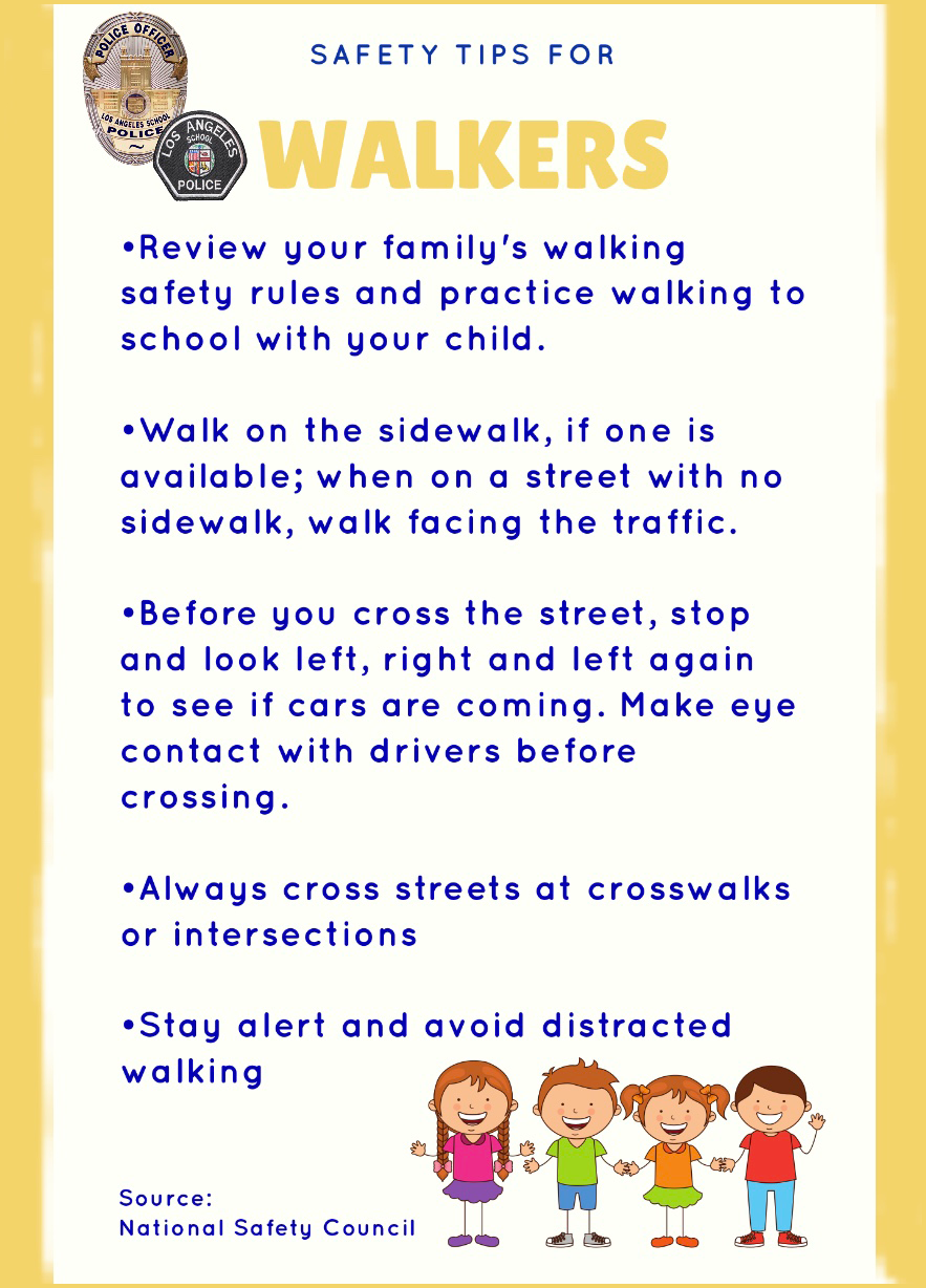 Safety Tips for Walkers