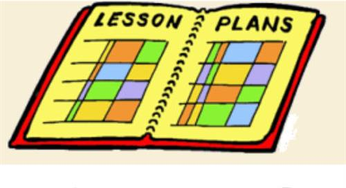 lesson plan book image