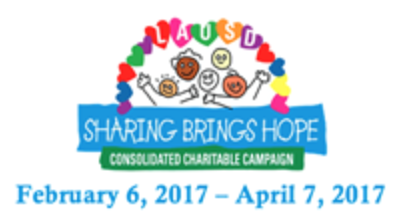 Sharing Brings Hope  Consolidated Charitable Campaign February 6, 2017 - April 7, 2017