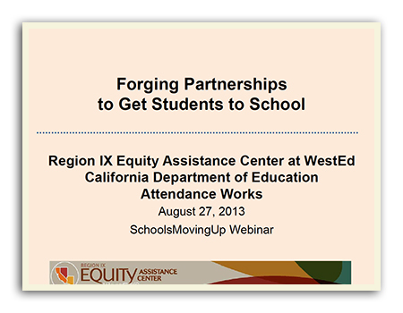 Forgoing Partnerships to Get Students to School