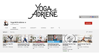 Guided Yoga with Adriene (Mixed Levels)