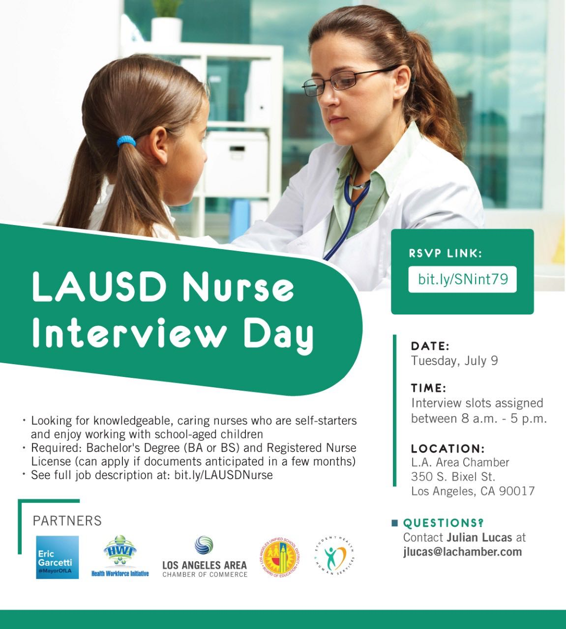 LAUSD Nurse Interview Day