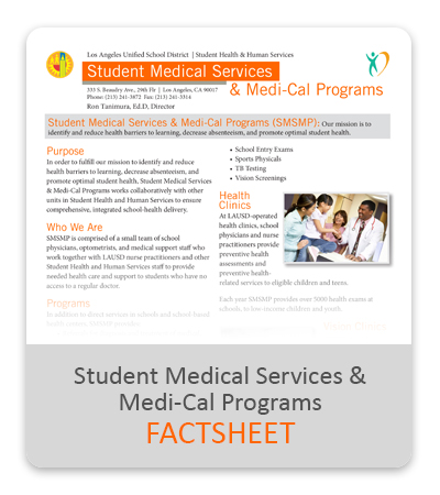 sports physical form lausd  SMSMP / LAUSD Clinic Services