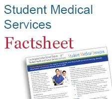 Student Medical Services Factsheet