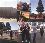 King Day parade collage