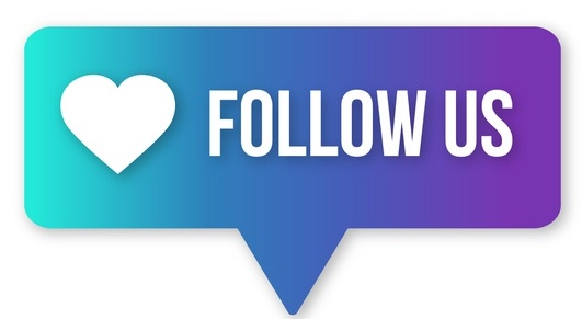 Follow us graphic