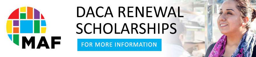 DACA Renewal Scholarships
