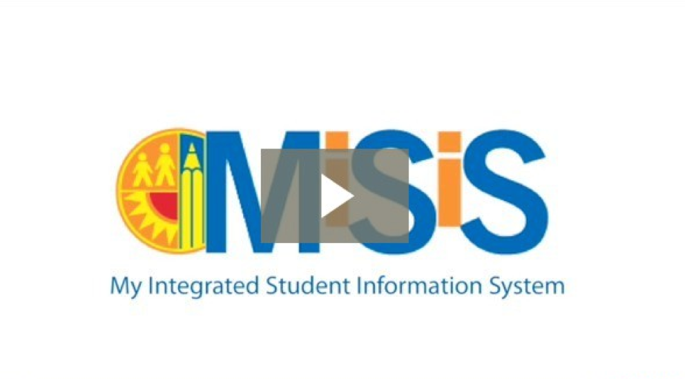 My Integrated Student Information System / New MiSiS Home