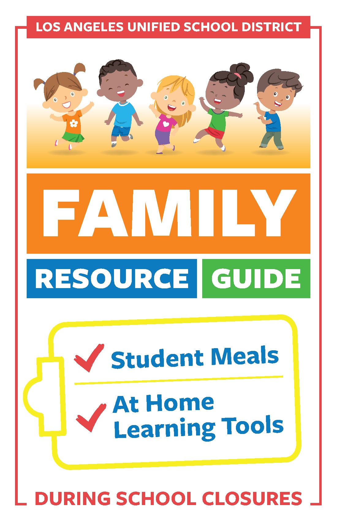 Click here for the Family Resource Guide