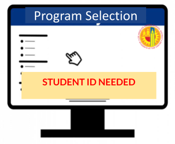 Return to Campus Program Selection Form Image (PNG)