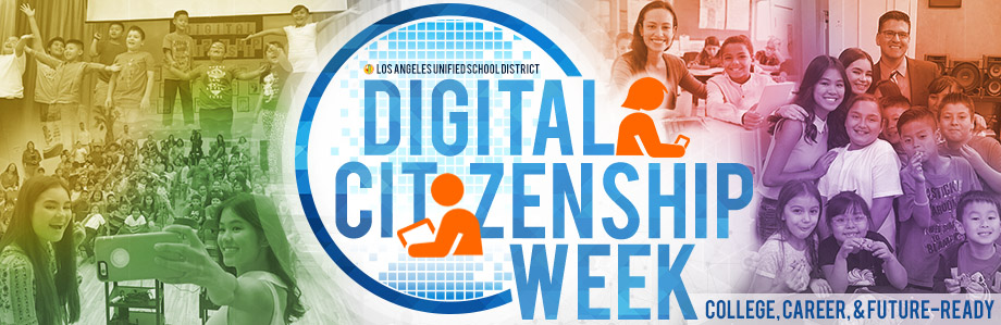Digital Citizenship Week 2017 Banner