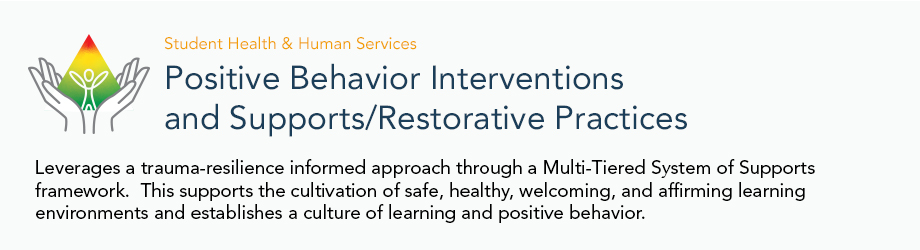 Positive Behavior Interventions and Supports/Restorative Practices - web banner
