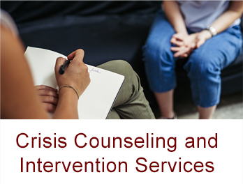 Crisis Counseling and Intervention Services - button