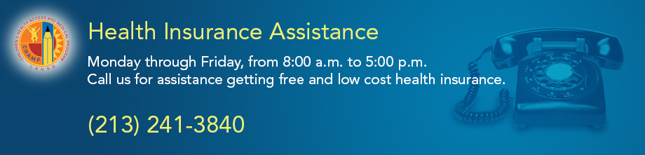Health Insurance Assistance Banner