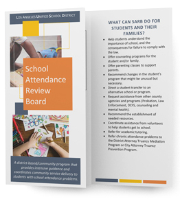 School Attendance Review Board - brochure