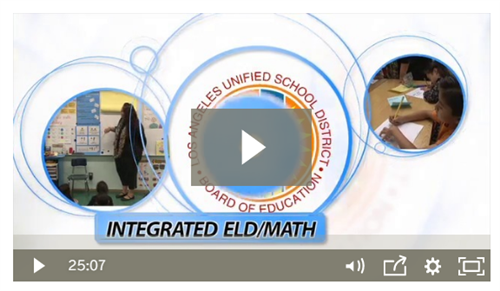 Integrated ELD Math Video