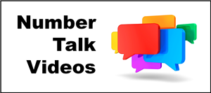 Number Talk Video Title