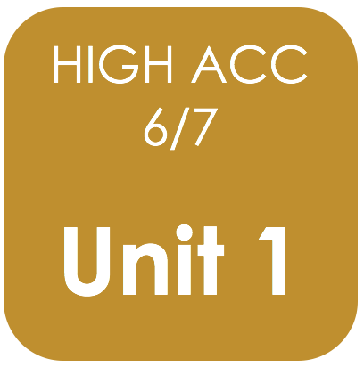 Highly Acc 6/7-Unit 1