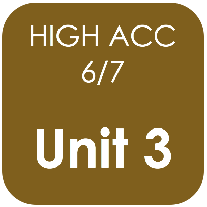Highly Acc 6/7-Unit 3