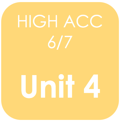 Highly Acc 6/7-Unit 4