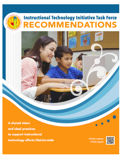 Task Force Recommendation