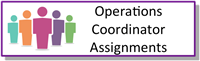 Operations Coordinator Assignments