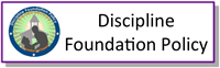 Discipline Foundation Policy