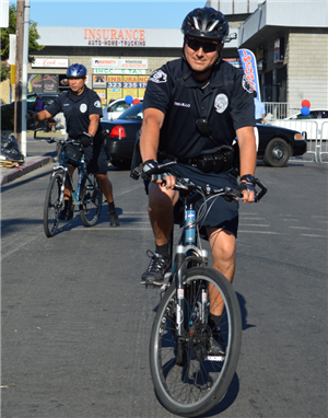LASPD Bike Team