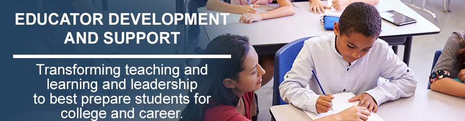 Educator Development and Support